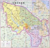 淮南市地图