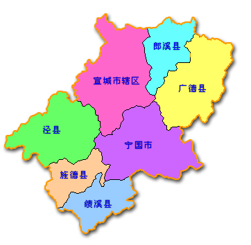 西和县风景名胜区地图