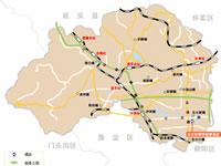 北京昌平区行政区划图