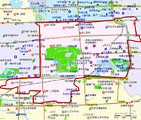 北京崇文区行政区划图