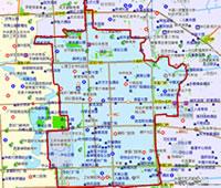 北京东城区行政区划图