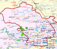 海淀区地图