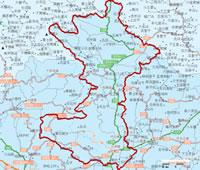 平谷区地图