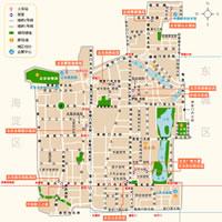 北京西城区地图