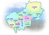 北京延庆县行政区划图