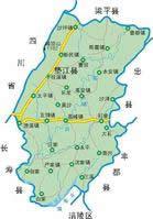 垫江县地图