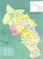 白银市地图