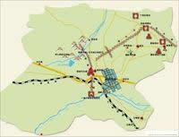 嘉峪关市导游图