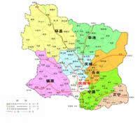 庆阳市地图