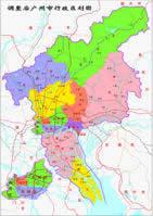 广州市新政区图