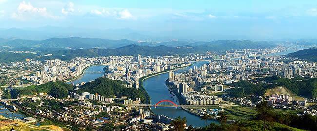韶关市地图 高清图片