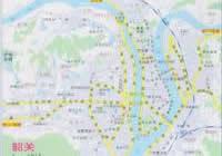 韶关市区地图