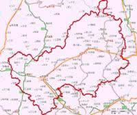 贵港市地图