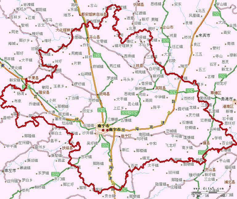 【地区概况】    南宁,广西壮族自治区首府,位于广西西南部,与越南社会主义共和国毗邻,是红豆的故乡,也是一座历史悠久的边陲古城,具有深厚的文化积淀,古称邕州,是一个以壮族为主的多民族和睦相处的现代化城市。居住着壮,苗,瑶等36个少数民族,总人口为620.12万,其中市区人口为140.