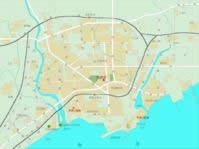 秦皇岛市城区地图