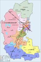 大庆市行政区划图