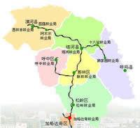 大兴安岭地区行政区划图