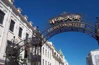 充满欧洲风情的中央大街