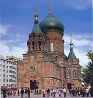标志性建筑之一 圣索菲亚教堂