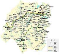 鸡西市行政区划图