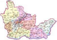 新乡市行政区划图