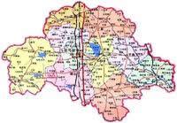 驻马店市行政区划图