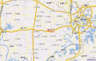 潜江市行政地图
