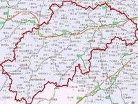邵阳市行政区划地图