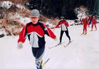 长白山运动员村滑雪场