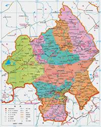 赤峰市行政区划图