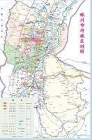银川市行政区划图