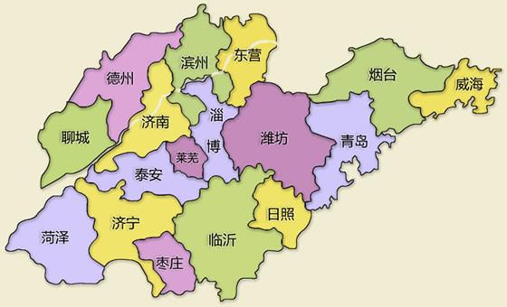 山东省地图 山东省三维地图图片