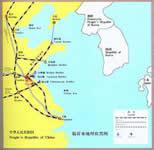 临沂交通区位图