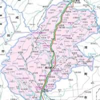 铜川市行政区划图