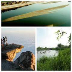 黄河第一支流渭河、华山云海、洽川处女泉
