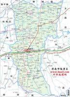 渭南市行政区划图