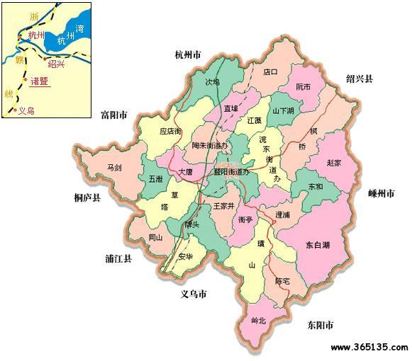 新疆行政区划图_诸暨市行政区划图 - 中国旅游资讯网365135.COM