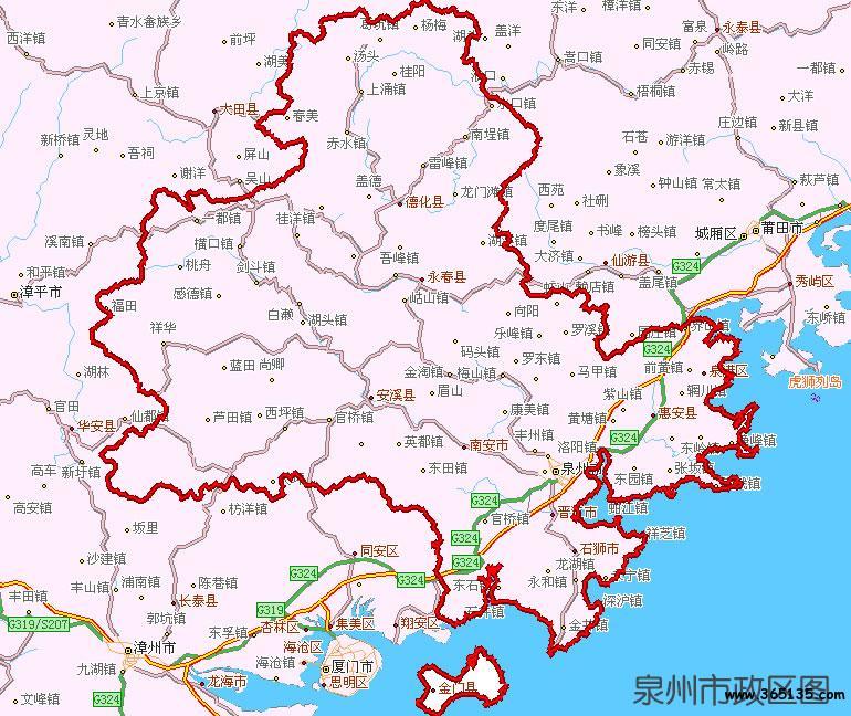 广州市行政区划图 第20张
