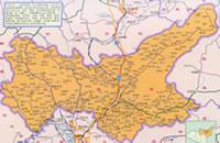 阳曲县行政区划图