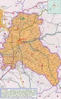 晋中市行政区划图