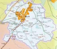 鞍山市行政区划图