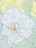 辽源市行政区划图