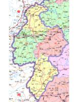 萍乡市行政区划图
