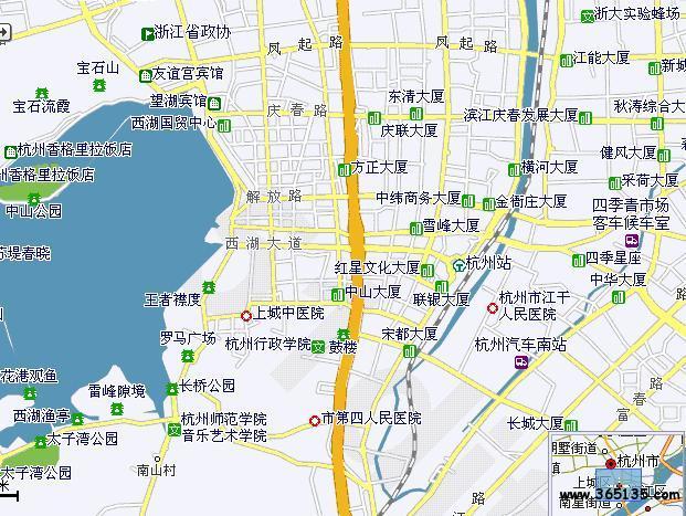 杭州上城区地图_杭州上城区人口
