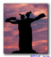 嘉兴老城雕塑