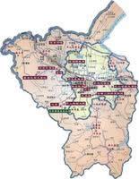 绍兴市行政区划图